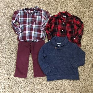 Lot of toddler boy clothes
